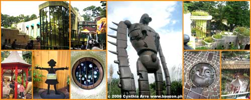 Ghibli Museum outdoors