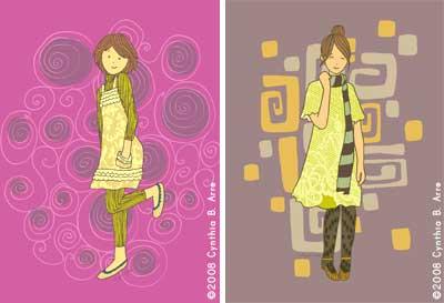 Cynthia Arre art (set 1)