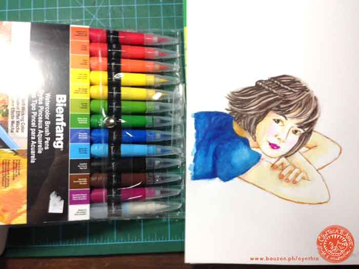 bienfang-waterbrush-markers-test