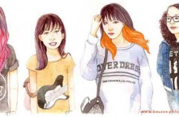 Rock 'n' Roll Daughters Watercolor Portraits (2015)