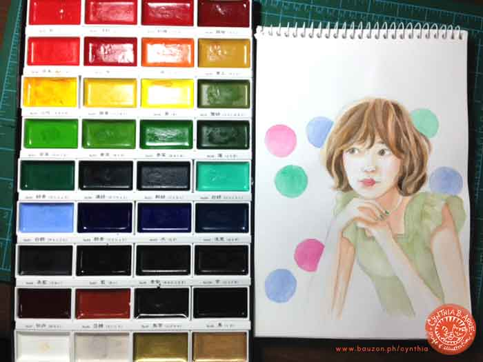 kuretake-gansai-tambi-watercolors-test