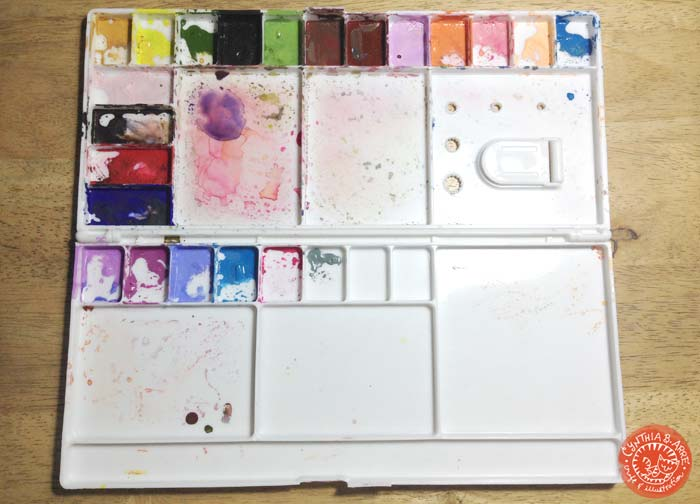 Watercolor Painting Tools