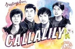 """Greetings from Callalily"" Illustrations & Album Design"
