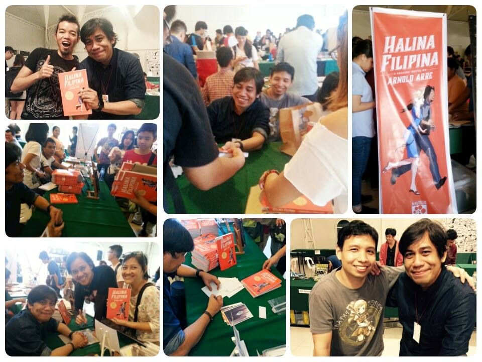 Halina Filipina Komiket launch