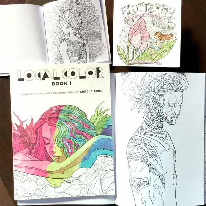 arnold arre cynthia bauzon arre coloring books