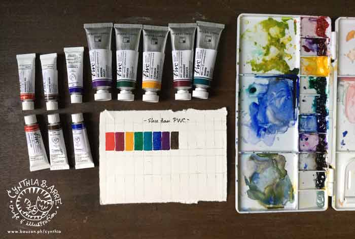 ShinHan PWC Extra Fine Artists Watercolor