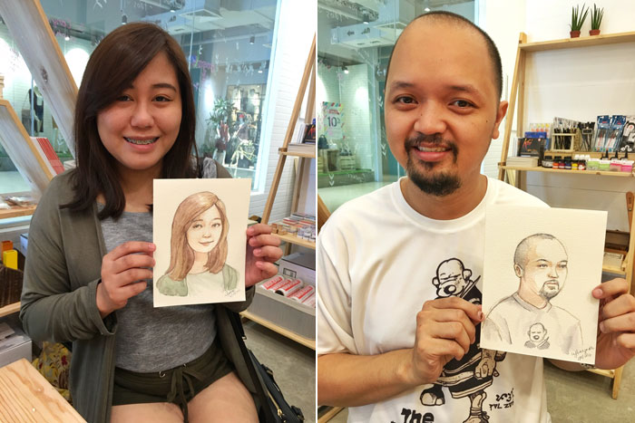live portraits by cynthia bauzon arre