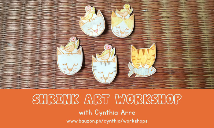 shrink plastic workshop cynthia arre