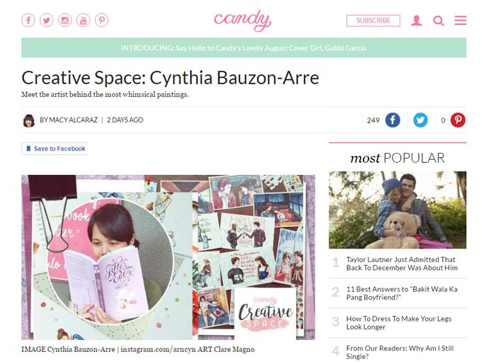 candymag feature