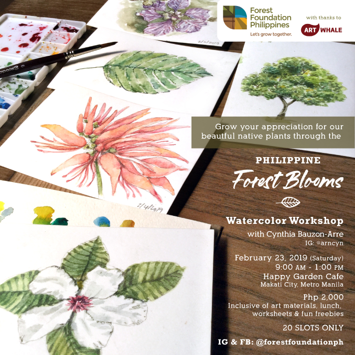 watercolor workshop manila 2019 makati
