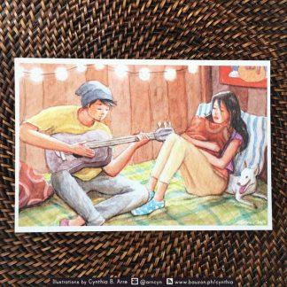 harana postcard