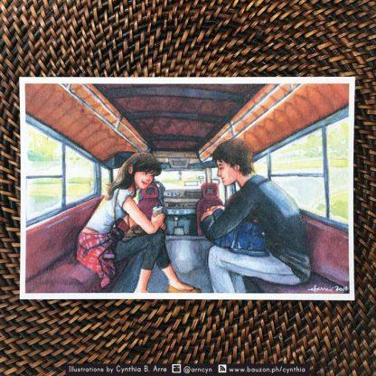 biyahe jeepney postcard