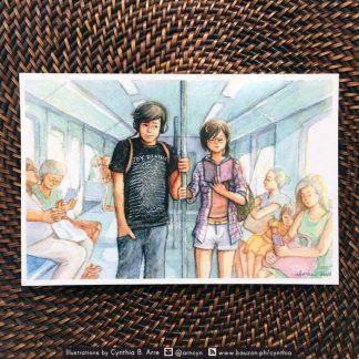 byaheng MRT postcard