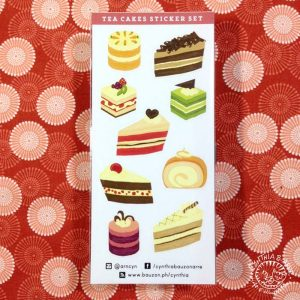 Tea Cakes Sticker Set