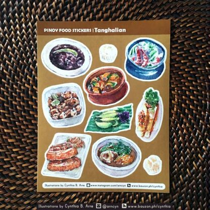 pinoy food ulam stickers