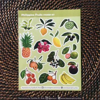 philippine fruits stickers