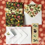 Philippine native fruits note card set