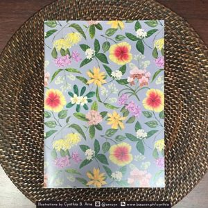 Philippine Flowers A5 notebook