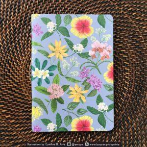 philippine flowers notebook