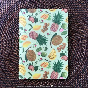 philippine fruits notebook