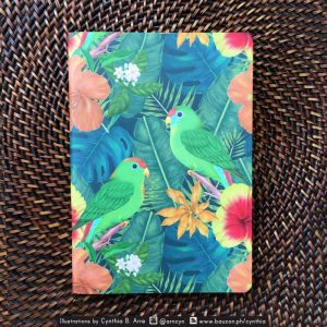 philippine parrots notebook