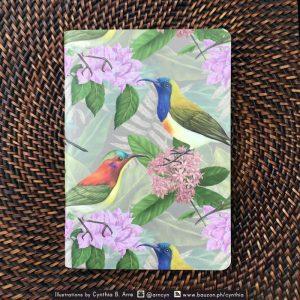 philippine sunbirds pocket notebook